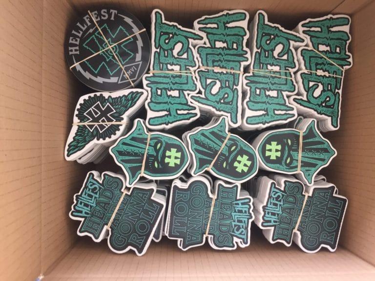 Stickers sérigraphie