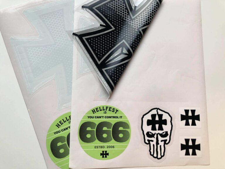 Planche stickers personnalisés