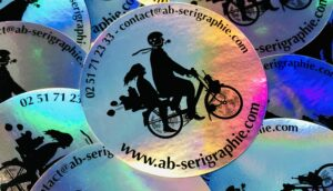 Stickers holographique