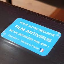 film adhésif antibactérien